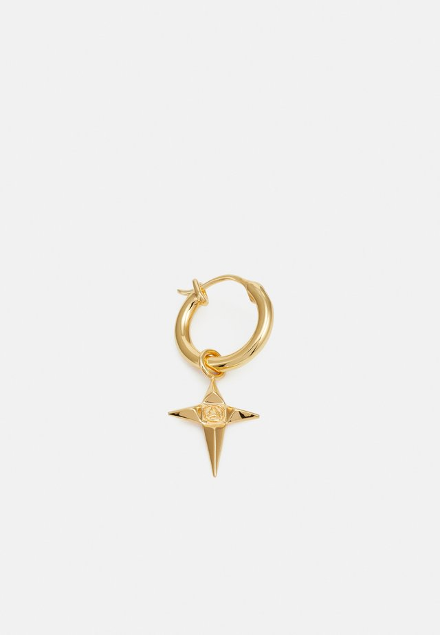 STAR HOOP EARRING - Kolczyki - gold-coloured