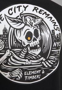 Element - SIDE - Print T-shirt - flint black - 0
