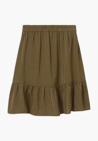 Rosemunde - Wrap skirt - military olive - 1