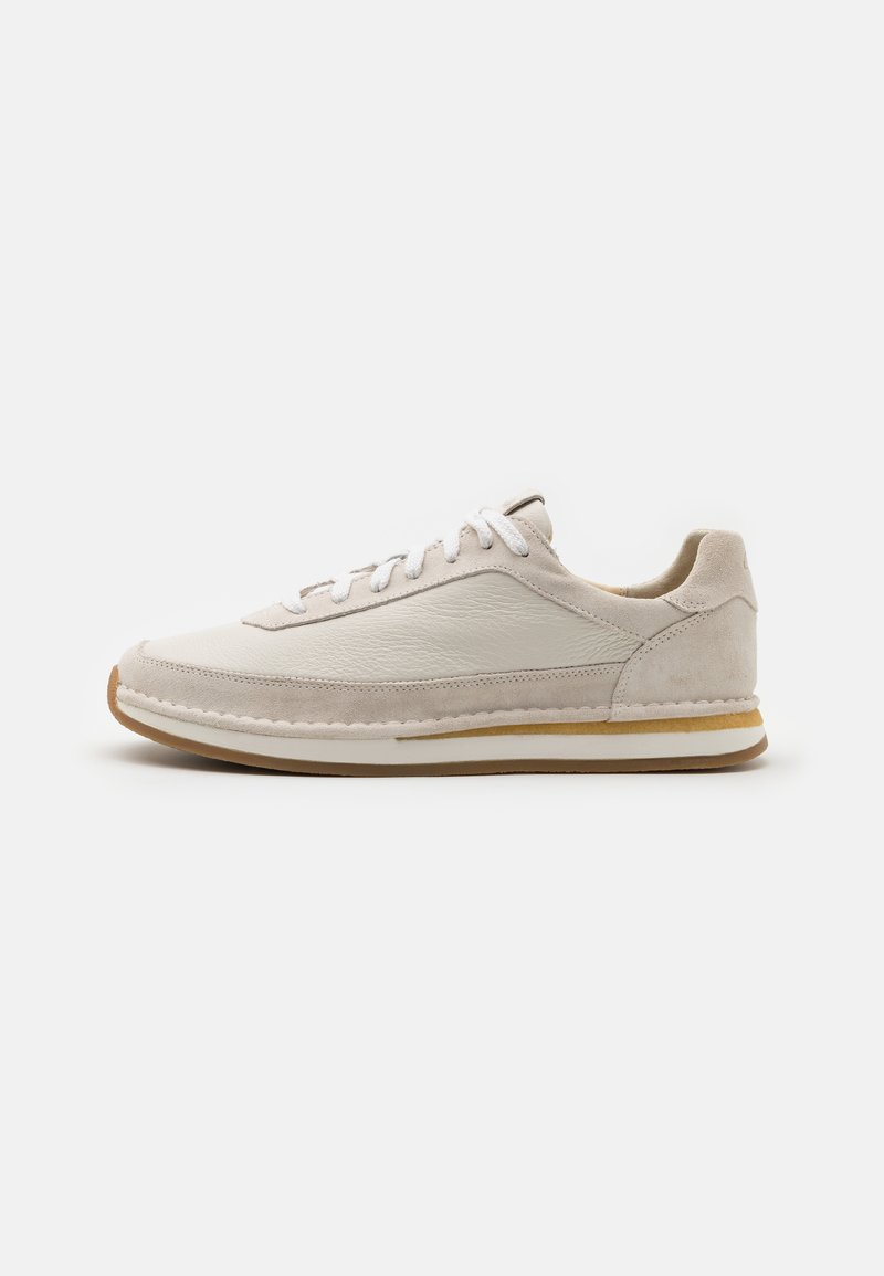 Clarks - CRAFTRUN LACE - Trainers - white