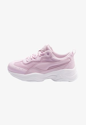 CILIA PATENT - Trainers - pink lady-puma white