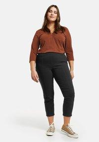 Samoon - LUCY - Leggings - Trousers - black - 0