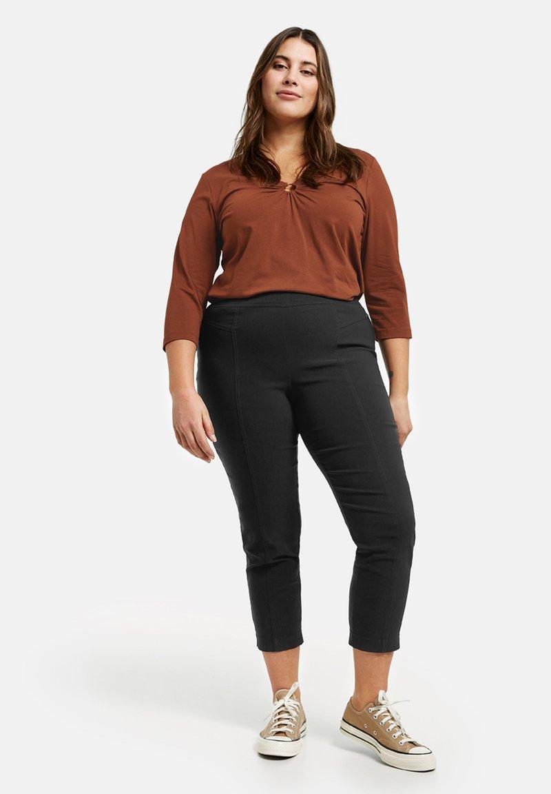 Samoon - LUCY - Leggings - Trousers - black