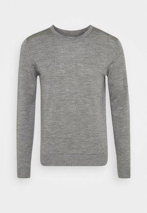 JJEMARK CREW NECK - Jersey de punto - grey melange