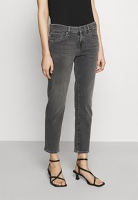 AG Jeans - EX BOYFRIEND - Jeans Tapered Fit - physical grey - 0