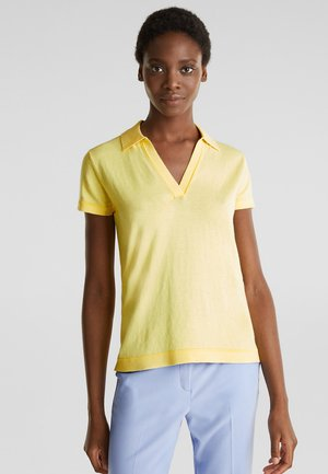 T-Shirt basic - lime yellow