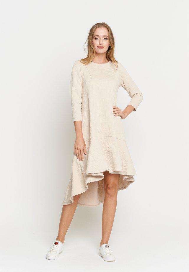 MIA - Gebreide jurk - sahne