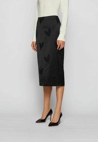 BOSS - Pencil skirt - patterned - 0