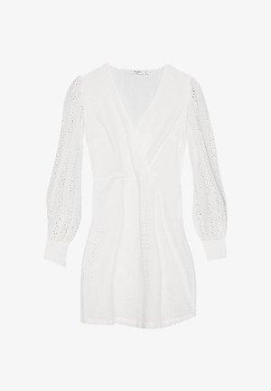 CROCHET DRESS - Kjole - white