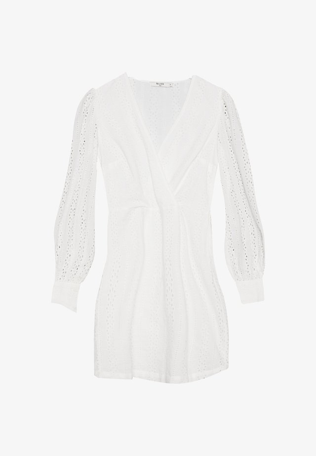 CROCHET DRESS - Robe d'été - white