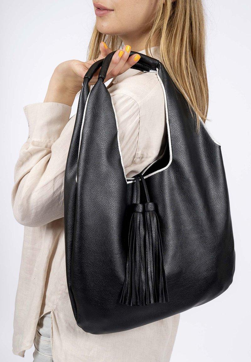 Emily & Noah - Tote bag - black