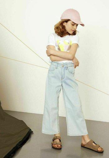 Jeans Straight Leg - light blue denim