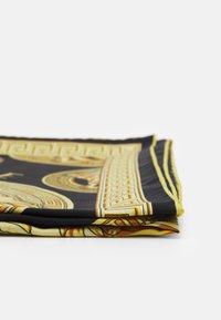 Versace - MEDUSA FOULARD - Foulard - black/gold - 2