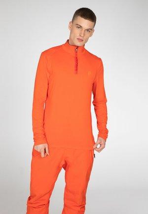 Long sleeved top - orange fire