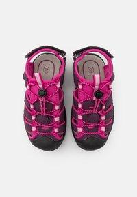 LICO - NIMBO - Chodecké sandály - bordeaux/pink - 3