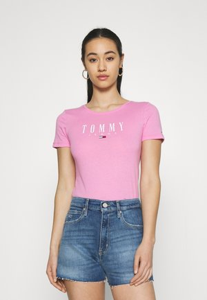 ESSENTIAL LOGO TEE - T-shirts print - pink daisy