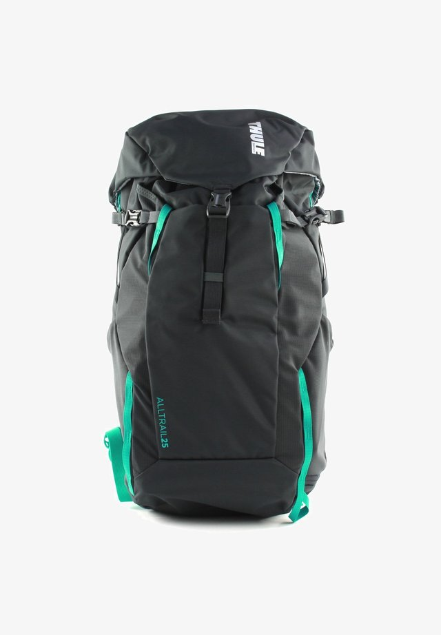 ALL TRAIL - Hiking rucksack - obsidian / bluegrass