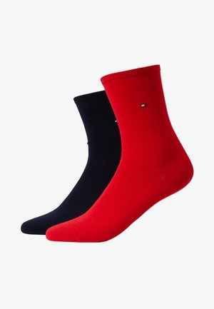 WOMEN SOCK CASUAL 2 PACK - Socks - red