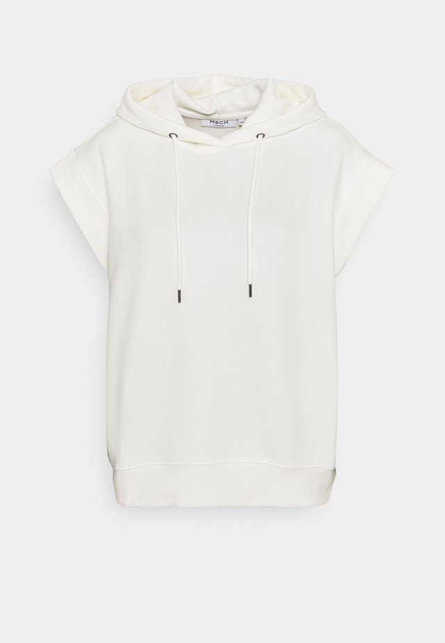 IMA HOOD - T-shirt con stampa - egret