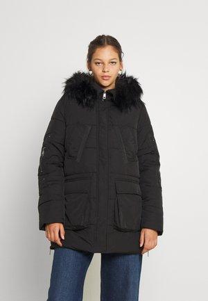 JDYDINA PADDED PARKA - Winter coat - black