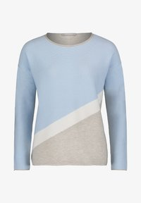 Betty & Co - MIT COLOR BLOCKING - Jumper - blue/silver - 3
