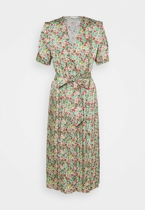 Day dress - vert/rose