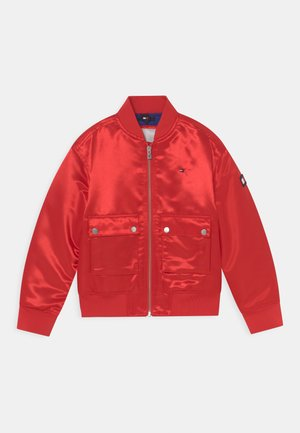 VARSITY SHINY - Winter jacket - deep crimson