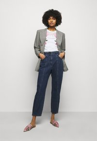Alberta Ferretti - TROUSERS - Slim fit jeans - blue - 1