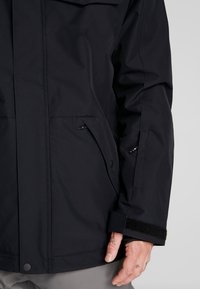 Quiksilver - IN THE HOOD - Laskettelutakki - black - 4