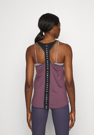 KNOCKOUT TANK - Sports shirt - purple