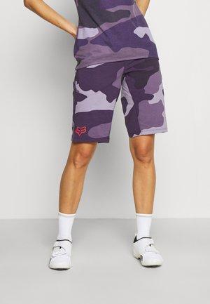 RANGER SHORT 2-IN-1 - Sportovní kraťasy - dark purple