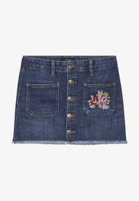 Polo Ralph Lauren - BUTTON SKIRT - Denim skirt - netty wash - 2