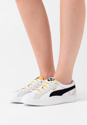 LOVE  - Sneakers basse - white/black