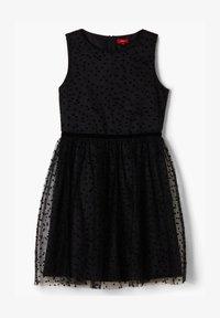 s.Oliver - Day dress - black dots - 1