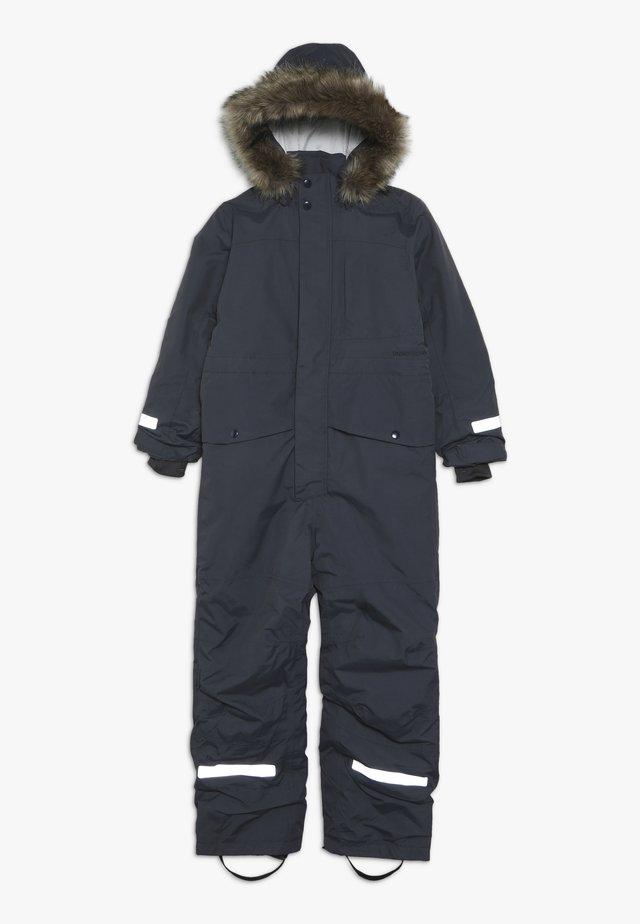 BJÖRNEN KIDS COVERALL - Mono para la nieve - navy dust