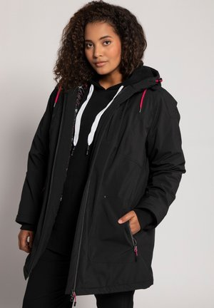 PLUS SIZE ECO BIONIC-FINISH® STRETCH - Light jacket - black