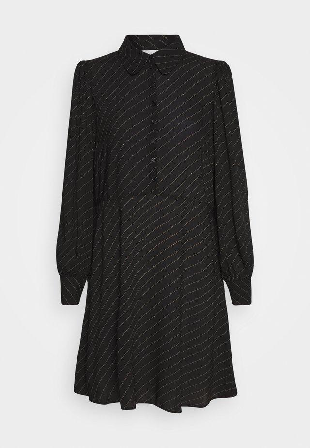 MOLLA DRESS - Shirt dress - caviar