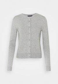 CREW CARDI PLAIN - Cardigan - grey