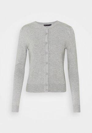 CREW CARDI PLAIN - Vest - grey