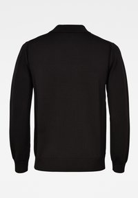 G-Star - PREMIUM CORE MOCK TURTLE LONG SLEEVE - Jumper - dk black - 1