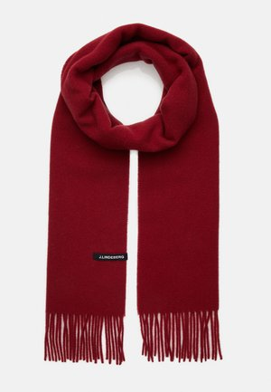 CHAMP SOLID SCARF - Scarf - chilli red