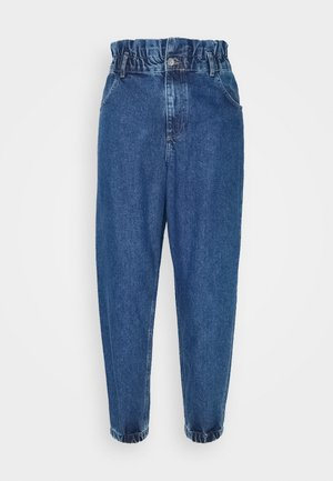 ONLOVA ELASTIC LIFE CARROT - Jeansy Relaxed Fit - medium blue denim