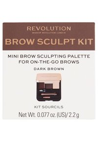Make up Revolution - BROW SCULPT KIT - Sminkset - dark - 2