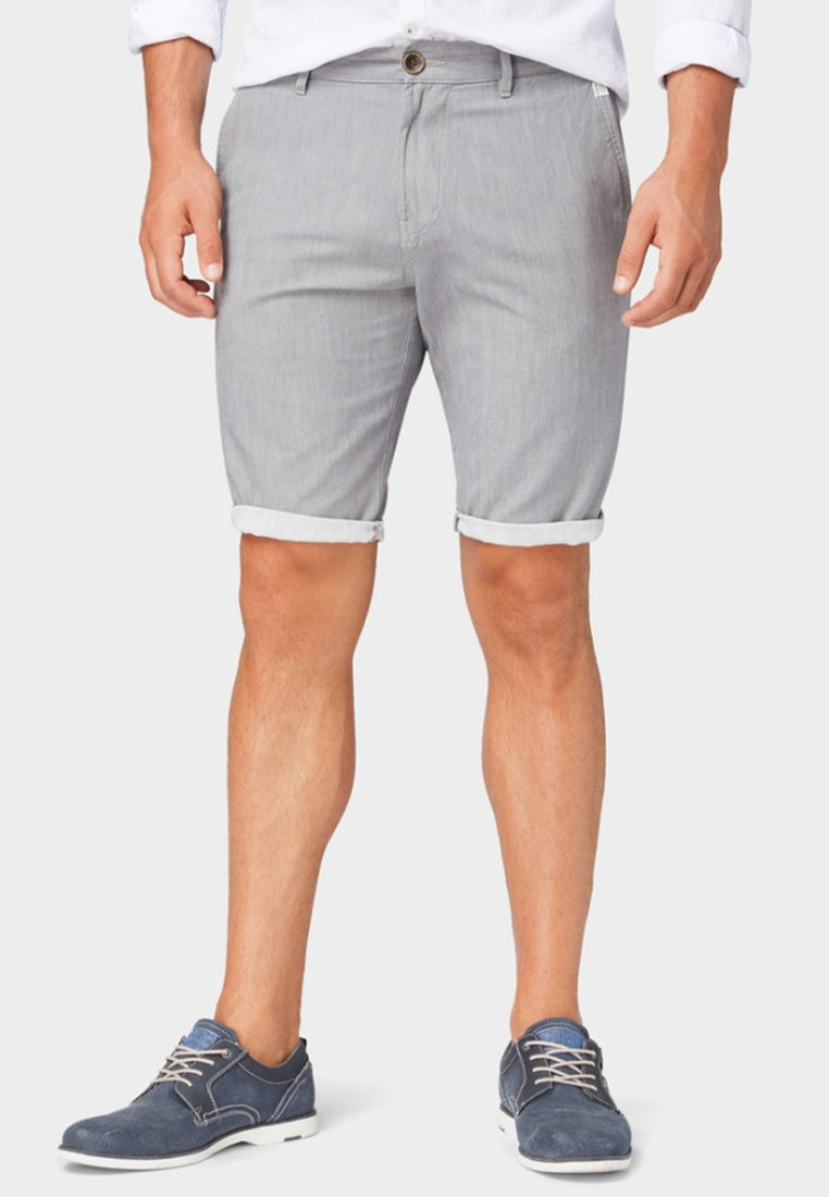 TOM TAILOR - Shorts - tornado grey