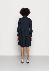 Marc O'Polo - DRESS FLARED STYLE - Shirt dress - night sky - 2
