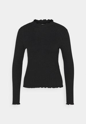 JDYFRANSISKA - Bluzka z długim rękawem - black