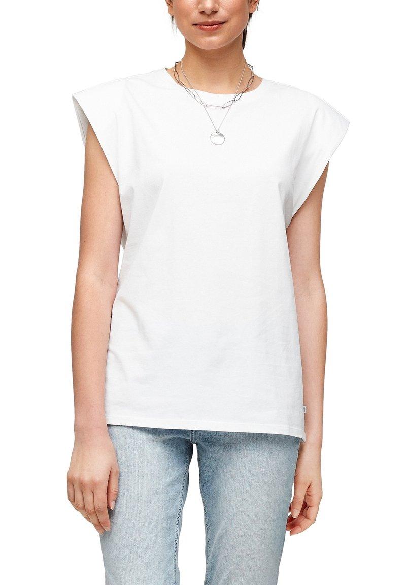 Q/S designed by - Basic T-shirt - white