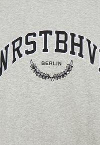 WRSTBHVR - AVA SWEATER - Sweatshirt - grey melange - 2