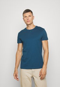Pier One - T-shirts basic - blue - 0