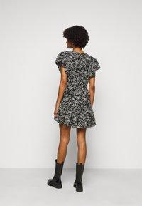 The Kooples - DRESS - Day dress - black/white - 2